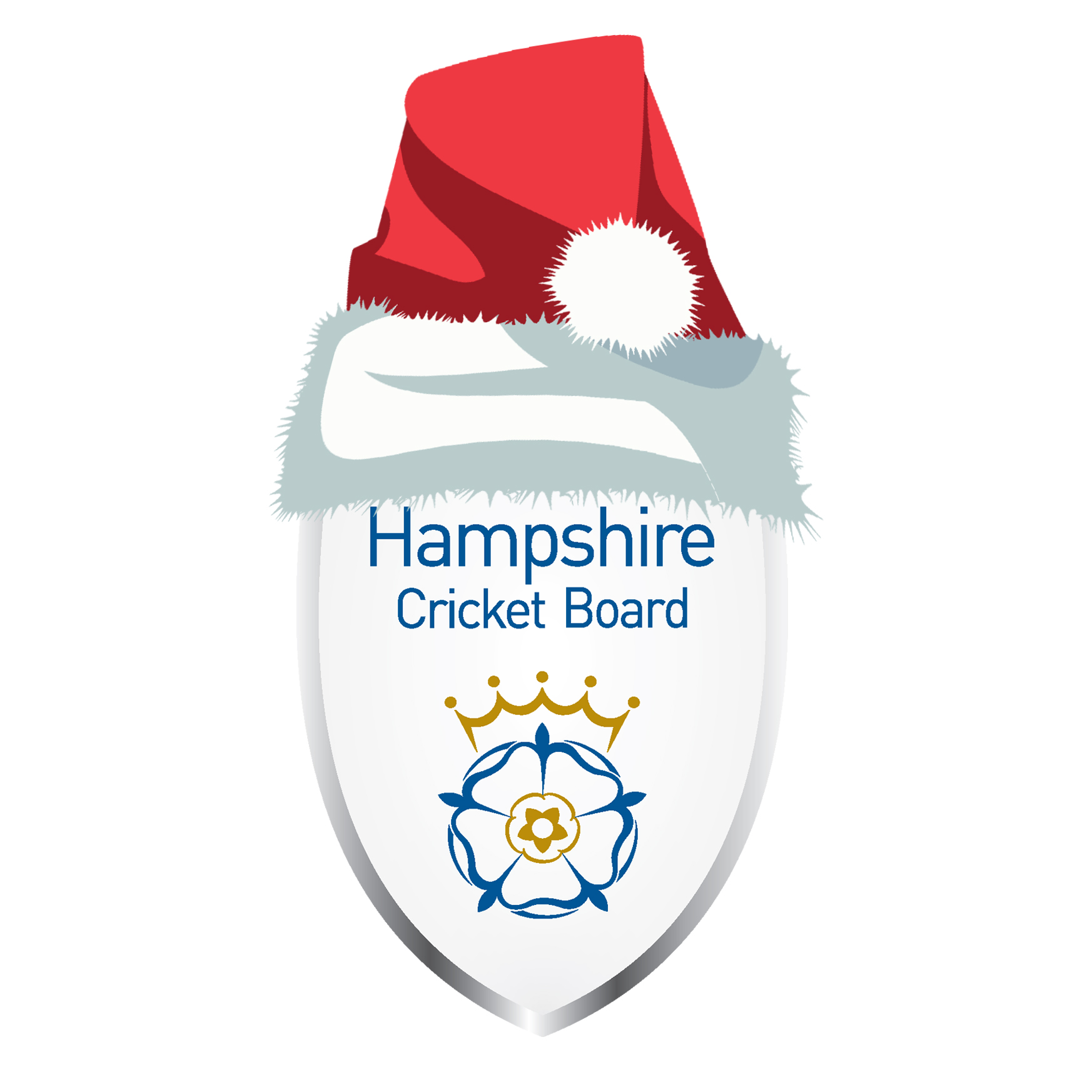 Hampshire Cricket Board christmas logo
