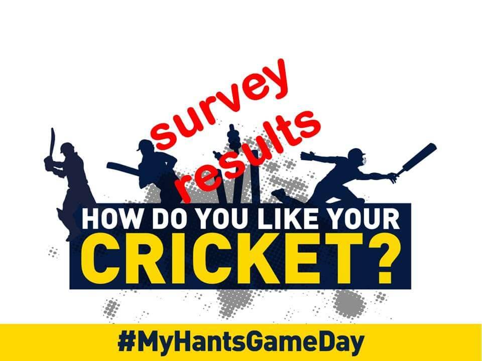 MyHantsGameDay survey results