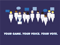 Hants Game Changer Your Game Your Voice Your Vote