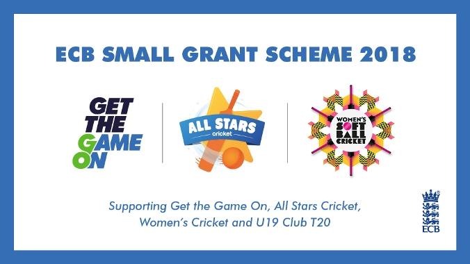 ECB Small Grant Scheme 2018 logo