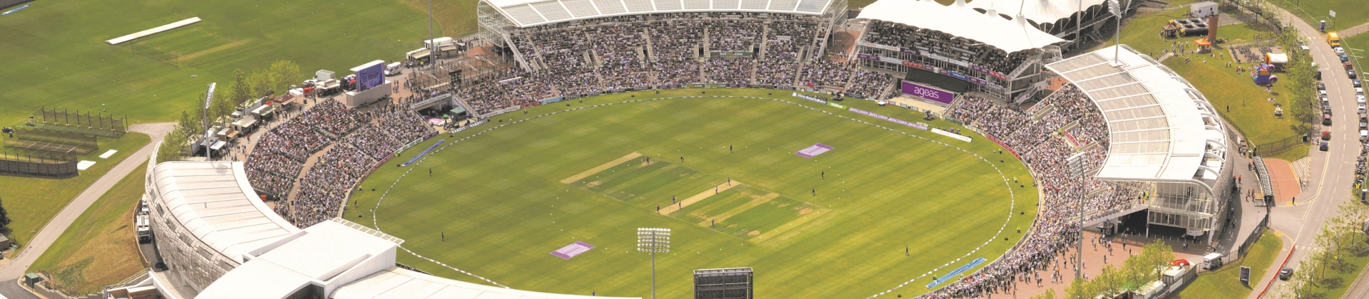 The Ageas Bowl Becomes First Samsung Fully Connected