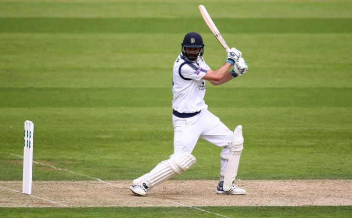 Vince on his way to another impressive century against Surrey in the County Championship in 2017