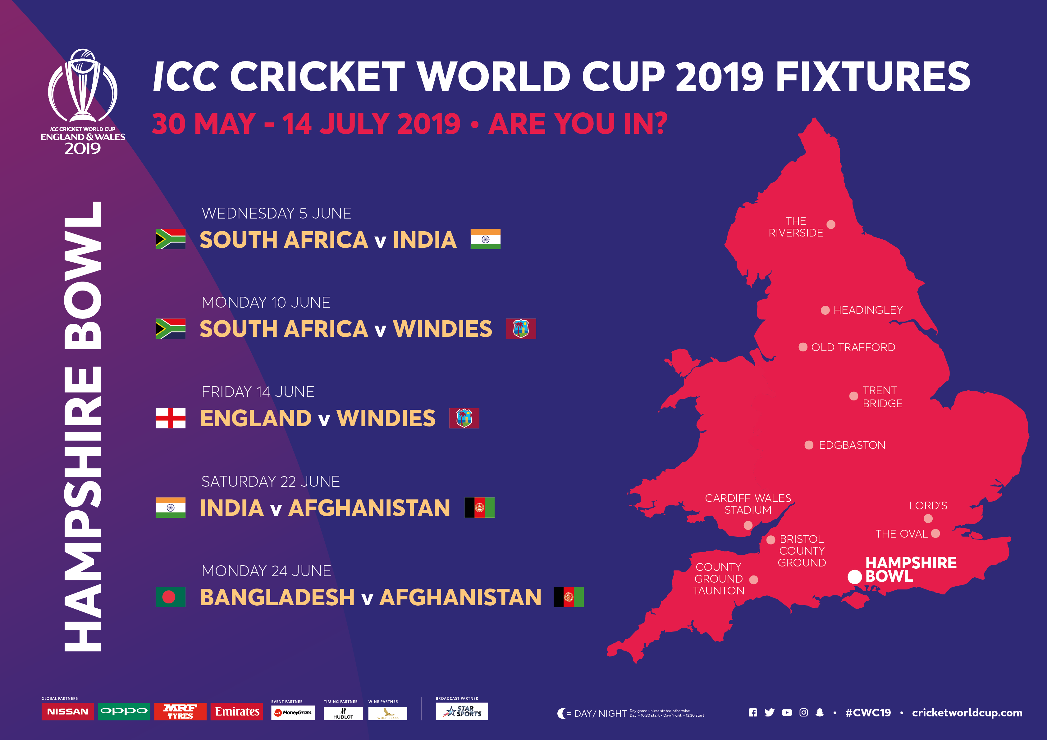 Icc World Cup 2019 The Ageas Bowl The Ageas Bowl